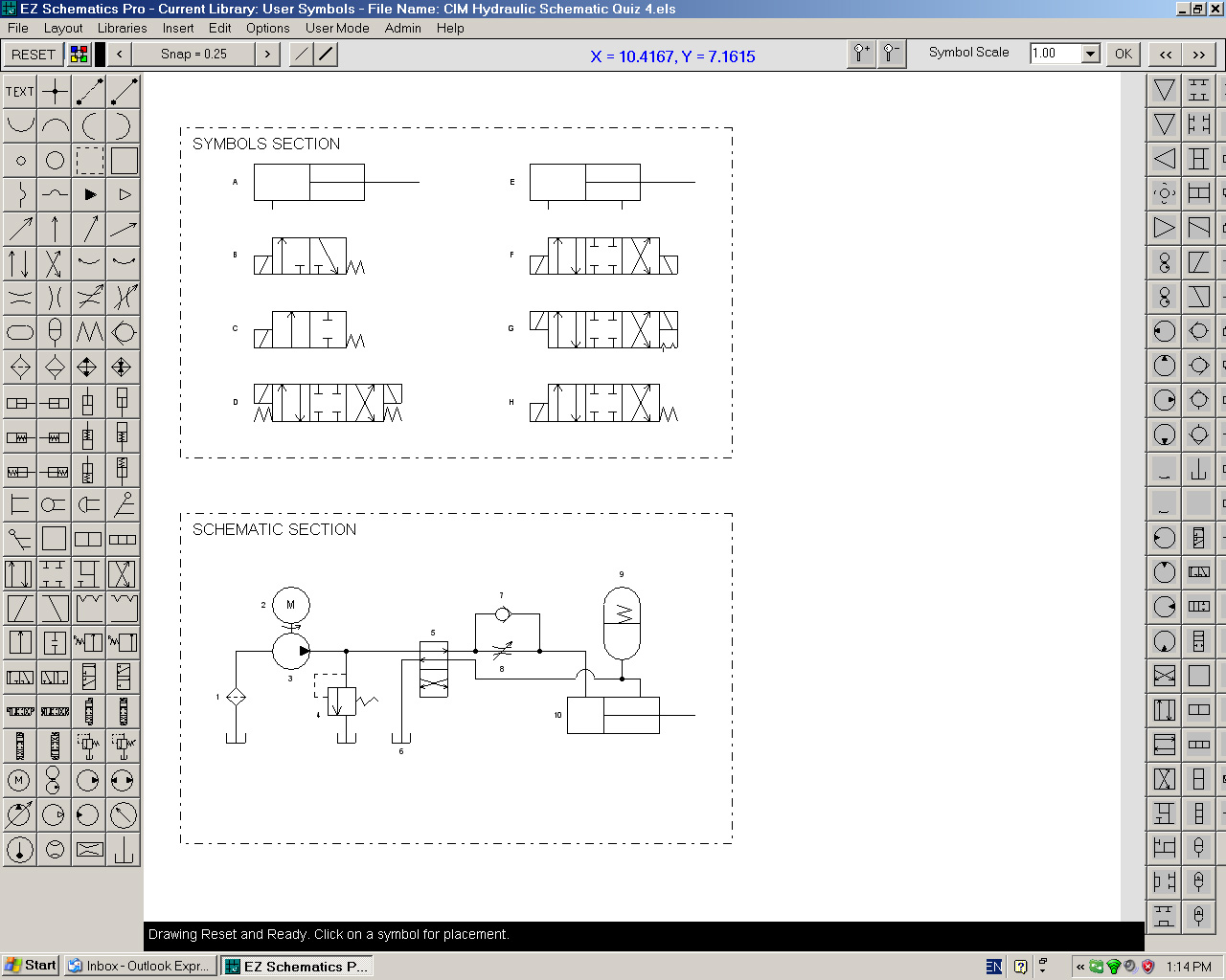 Ez schematics pro screen shot on electrical schematic symbols pdf