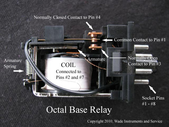 electrical control relay tutorial rh wadeinstruments com 8 Pin Control Relay Schematic 8 Pin Octal Relay